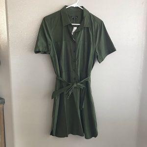J. Crew button up dress